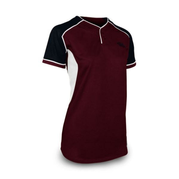 Women's U4160 2-Button Fastpitch Jersey