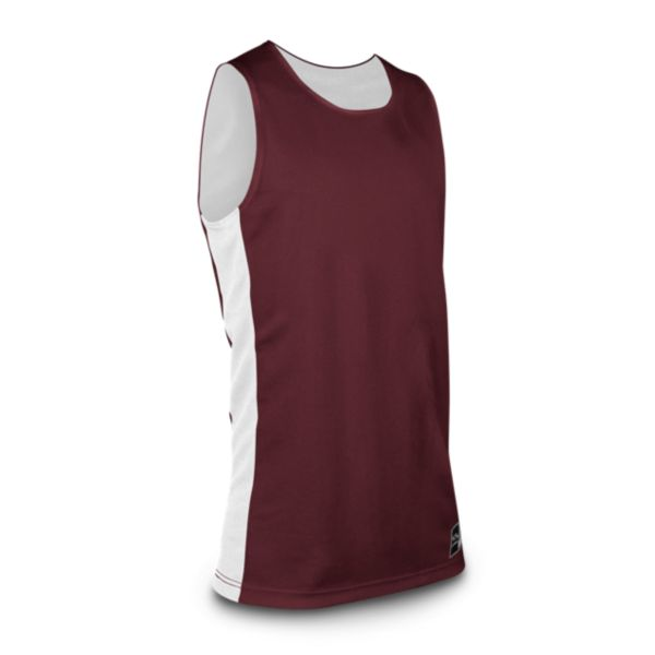 Men's In-Stock Authentic Basketball 215 Jersey Maroon / White