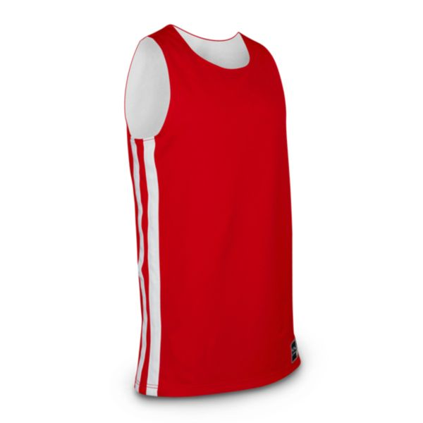 In-Stock Authentic Basketball 217 Jersey Red / White
