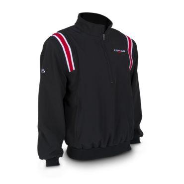 Men's USSSA Softshell Fleece Quarterzip Pullover