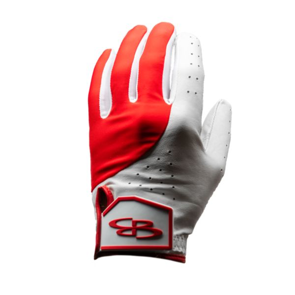 Adult Verve Left Hand Golf Glove Red