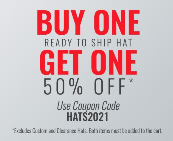 Buy One Ready to Ship Hat Get on 50% Off