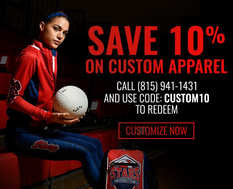 10% Off Custom Apparel