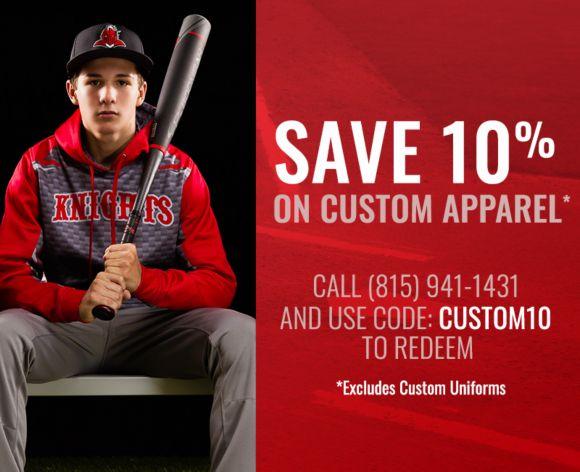 10% Off Custom Apparel
