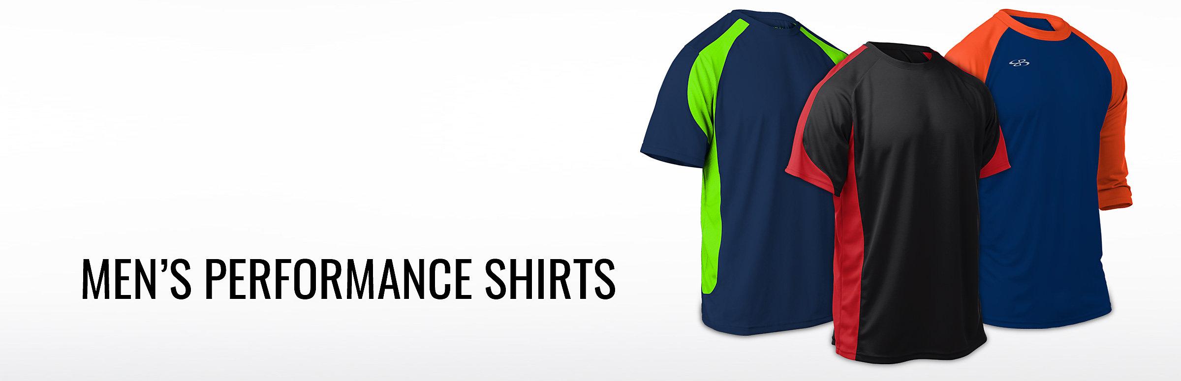 Mens Performance Shirts Boombah