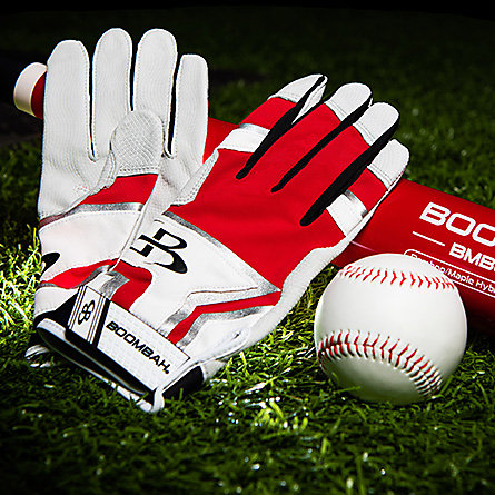Oragne Batting Gloves