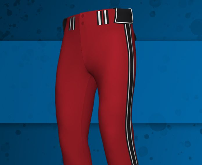 Custom Braided Baseball Pants