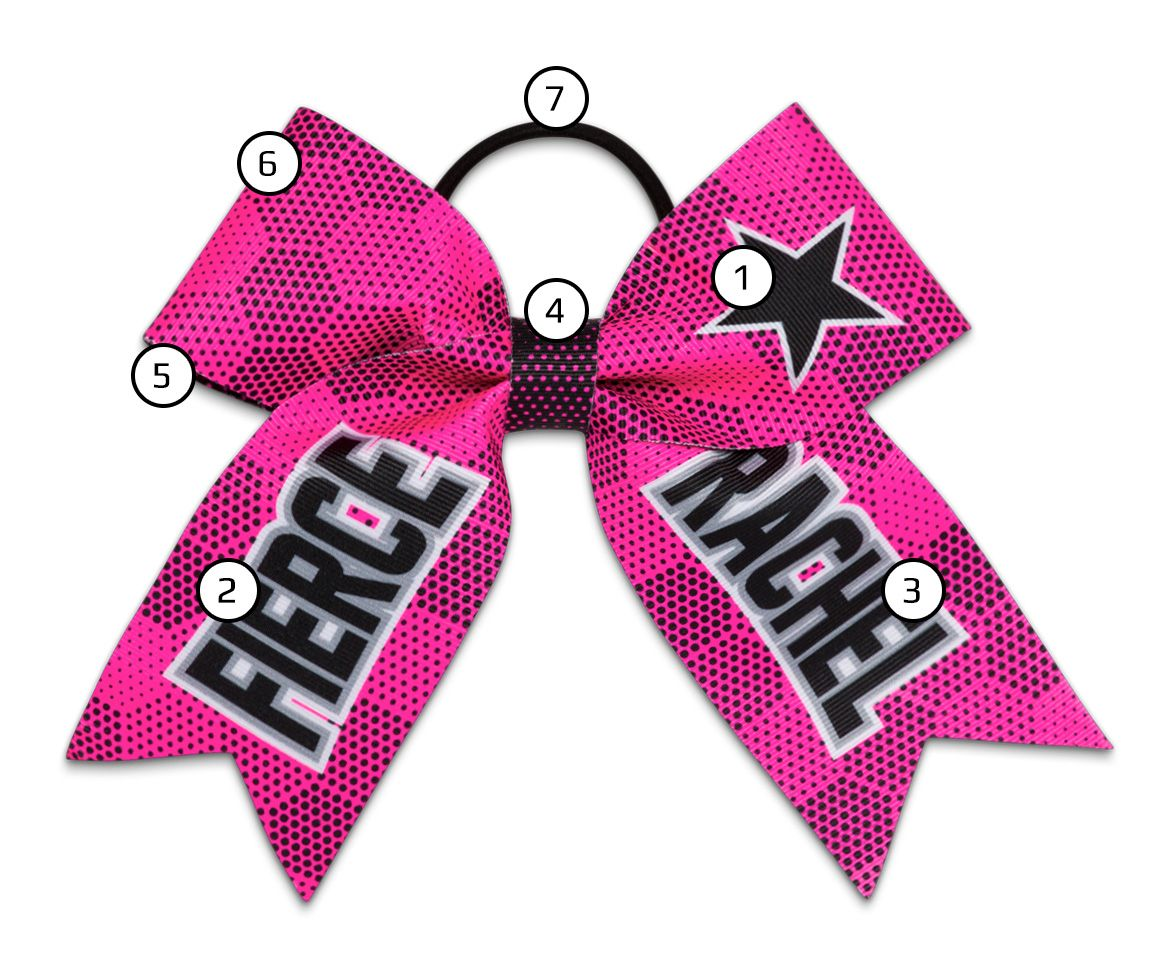 Boombah Custom Cheer Bow Details