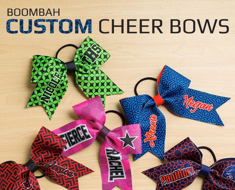 boombah Custom INK Cheer Bows