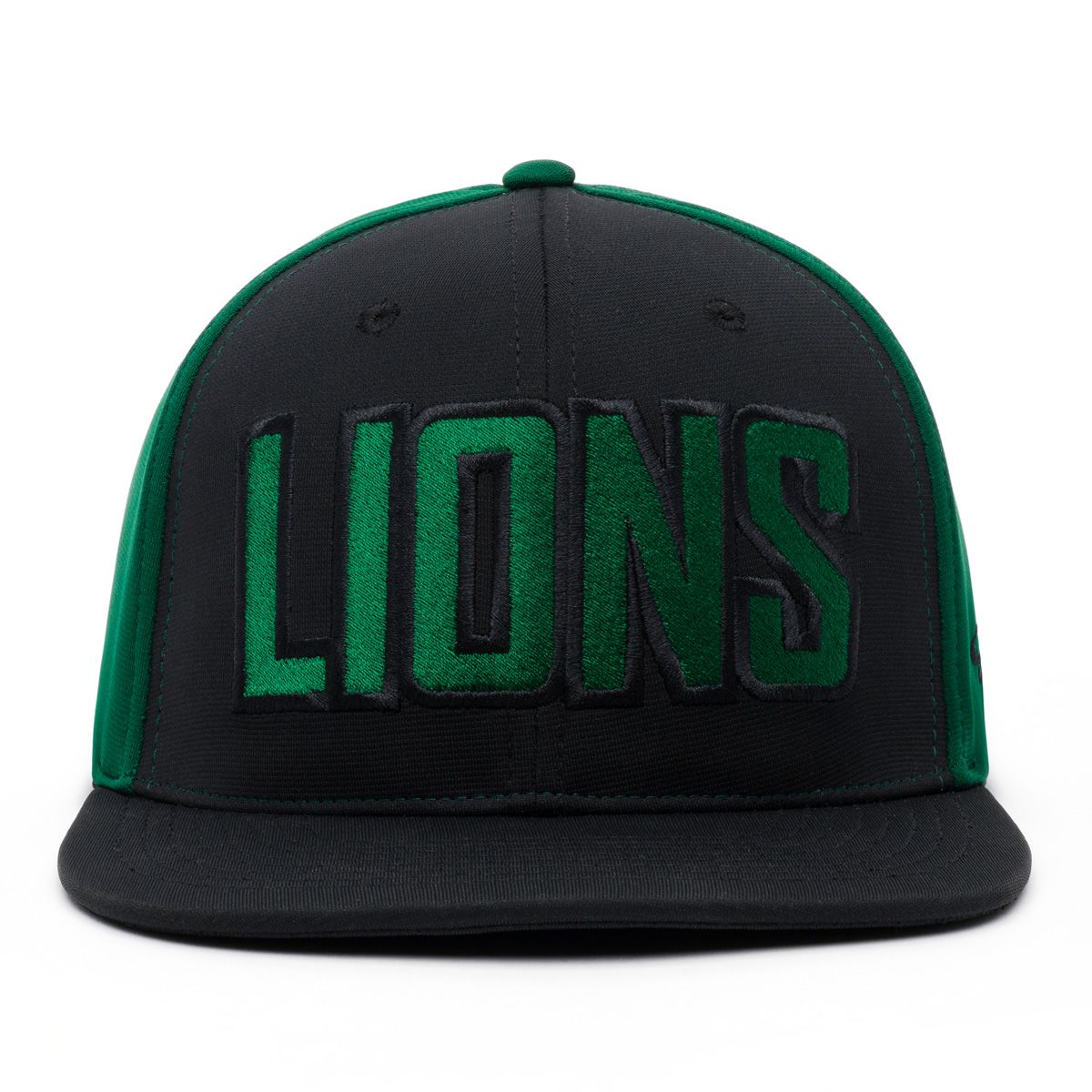 custom embroidered hat lions design