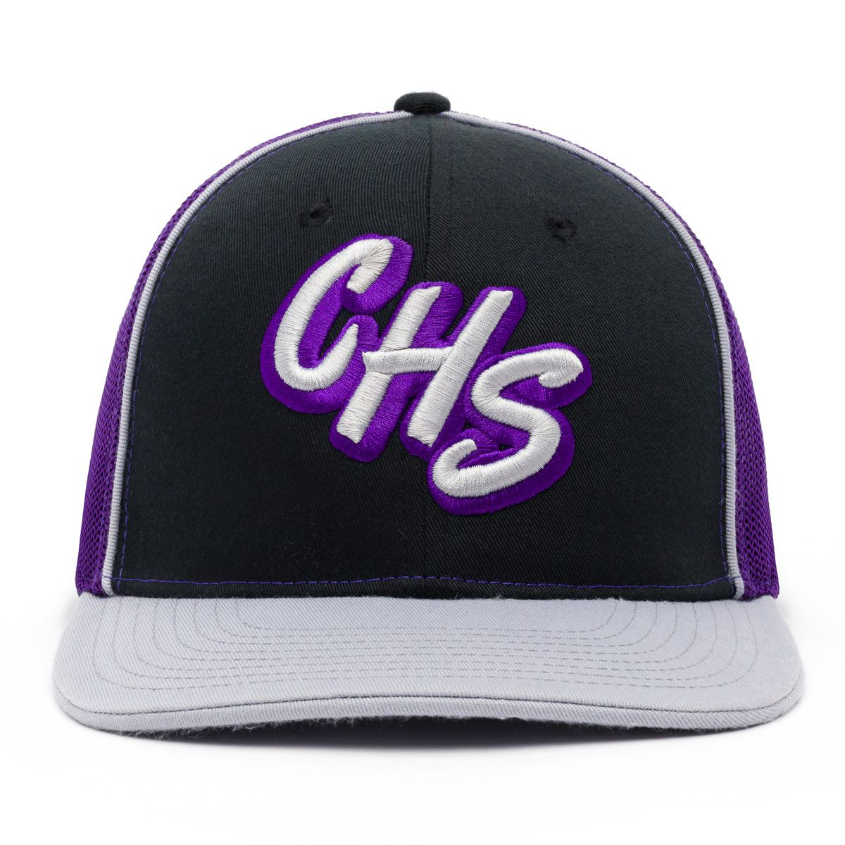 custom embroidered hat high school design