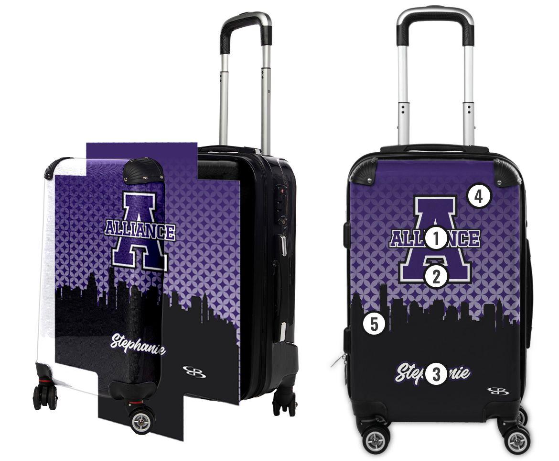 Boombah Custom Luggage Details