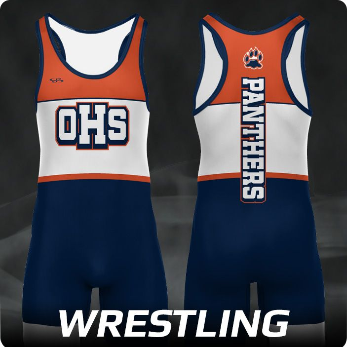 Boombah INK Custom Men's Wrestling Uniforms