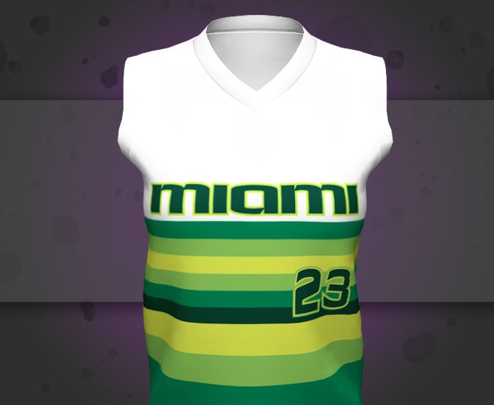 Boombah Custom Semi-Fitted Sleeveless V-Neck Jersey