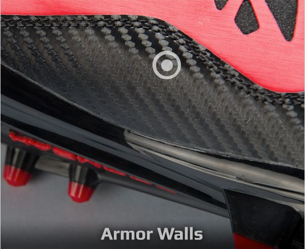 Football Cleats Armored Wall
