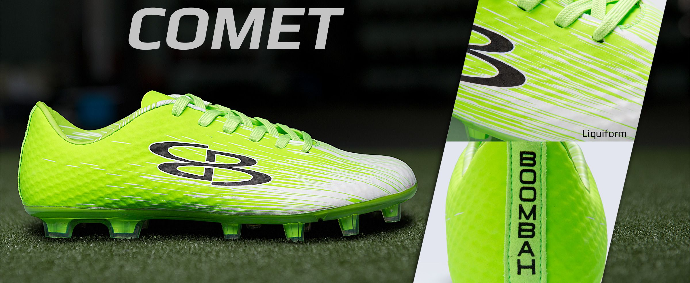 comet soccer cleats