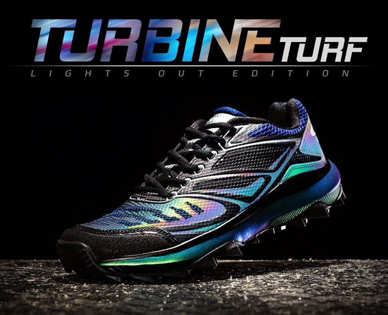 Boombah Turbine Lights Out Turf Shoes
