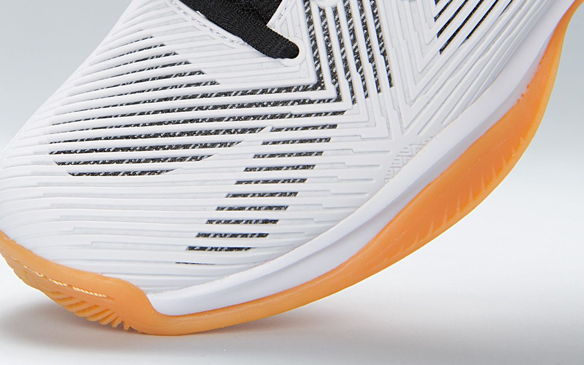 volleyball shoes with defcon material