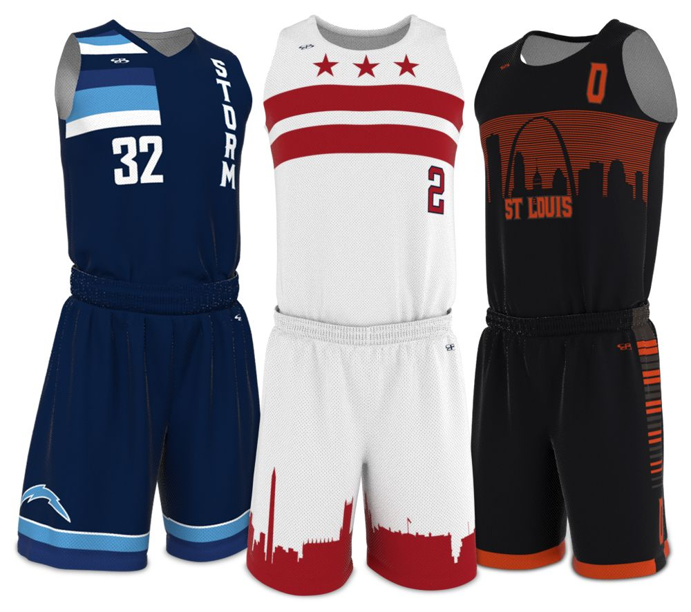 Full Custom Basketball Uniforms