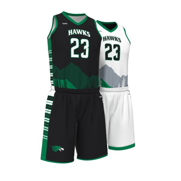Custom Youth Fadeaway Series Reversible Basketball Full Uniform