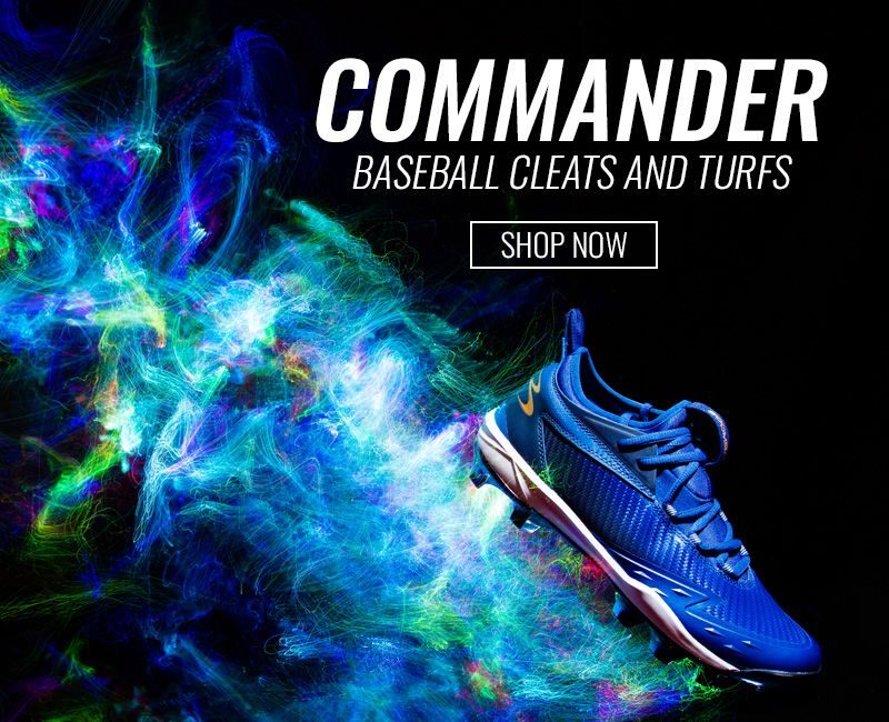 Commander Baseball Cleats and Turfs