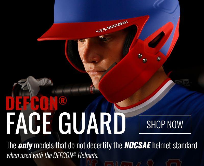 Boombah NOCSAE DEFCON® Face Guard