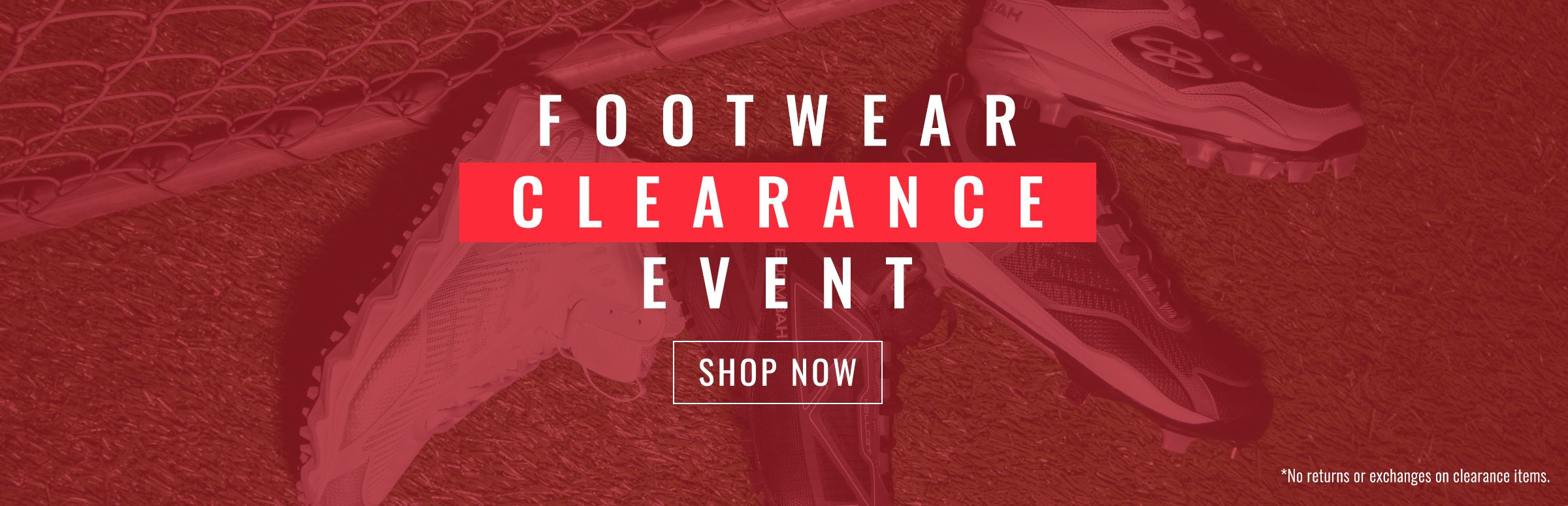 End of the Year Footwear Clearance Event