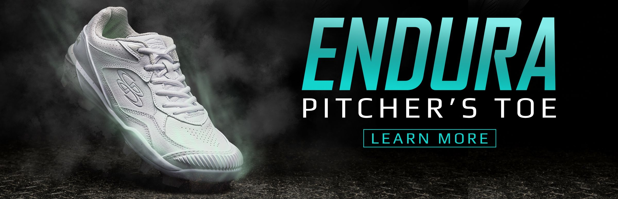 Boombah Endura Pitcher's Toe Fastpitch Cleats