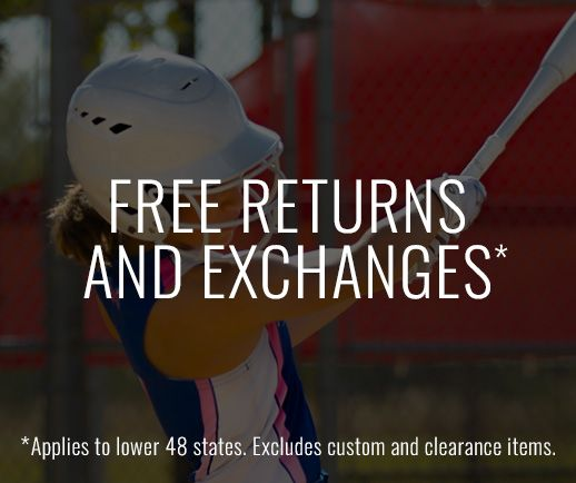 Free Returns and Exchanges. Applies to lower 48 states. Excludes custom and clearance items.