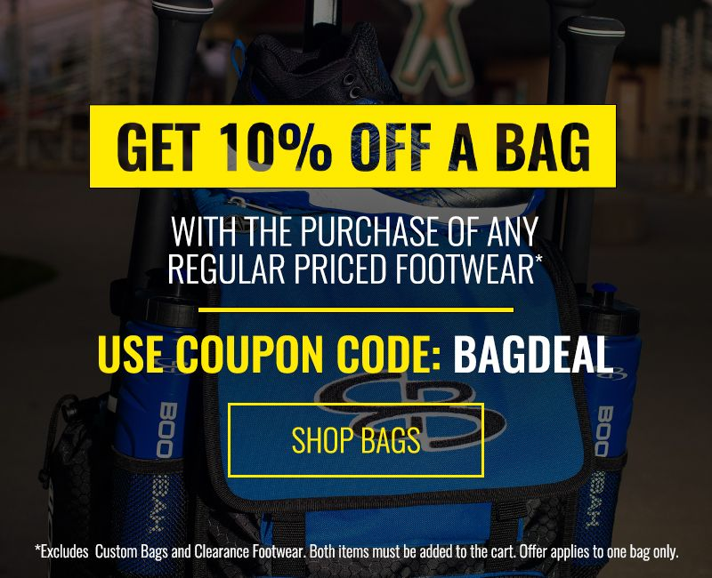 Get 10% Off a Bag with Purchase of Footwear