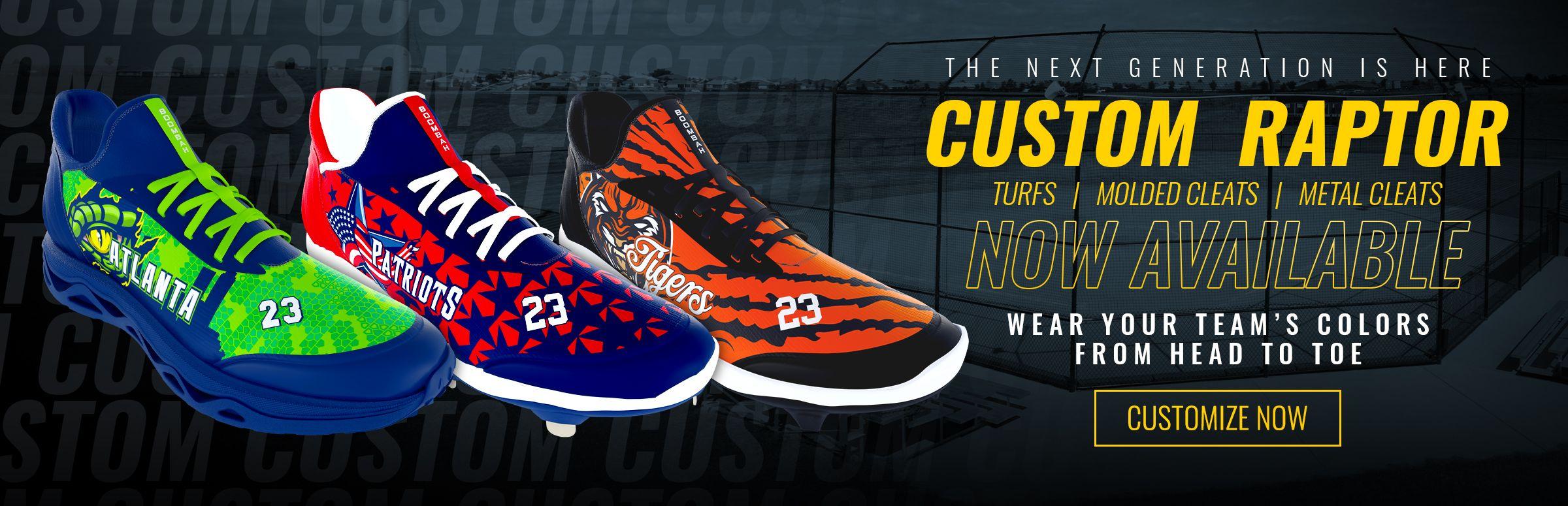 Custom Raptor Footwear - Now Available