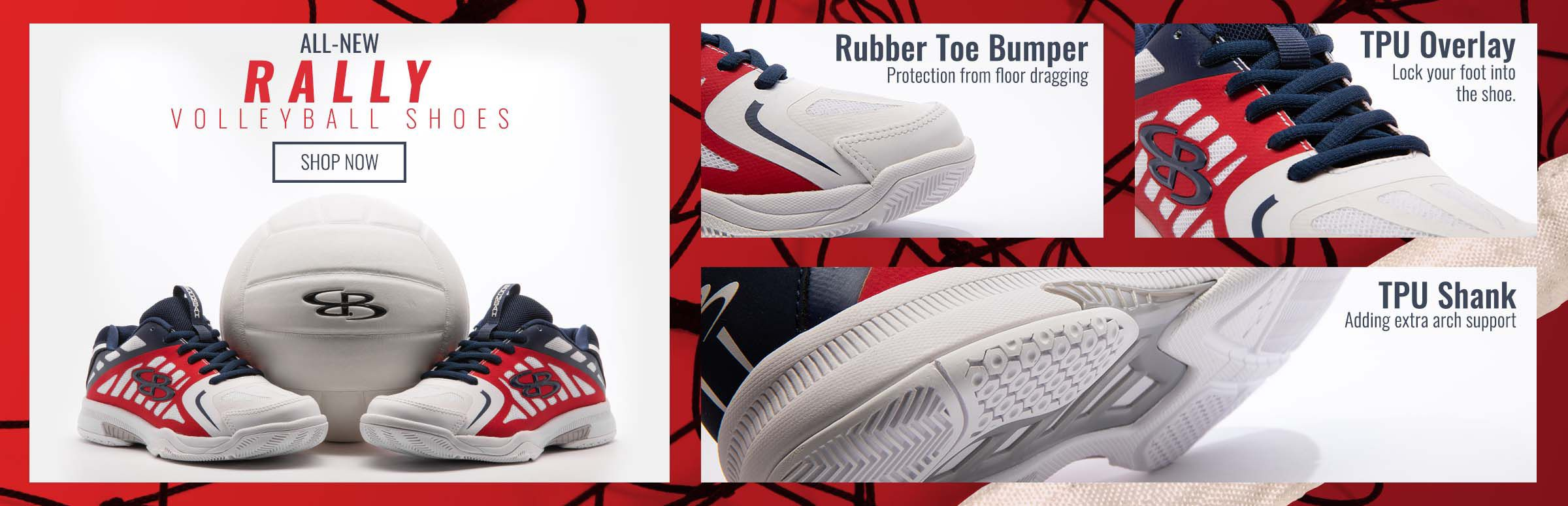 All-New Rally Volleyball Shoes