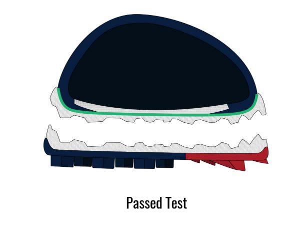 Tensile Strength - Passed Shoe