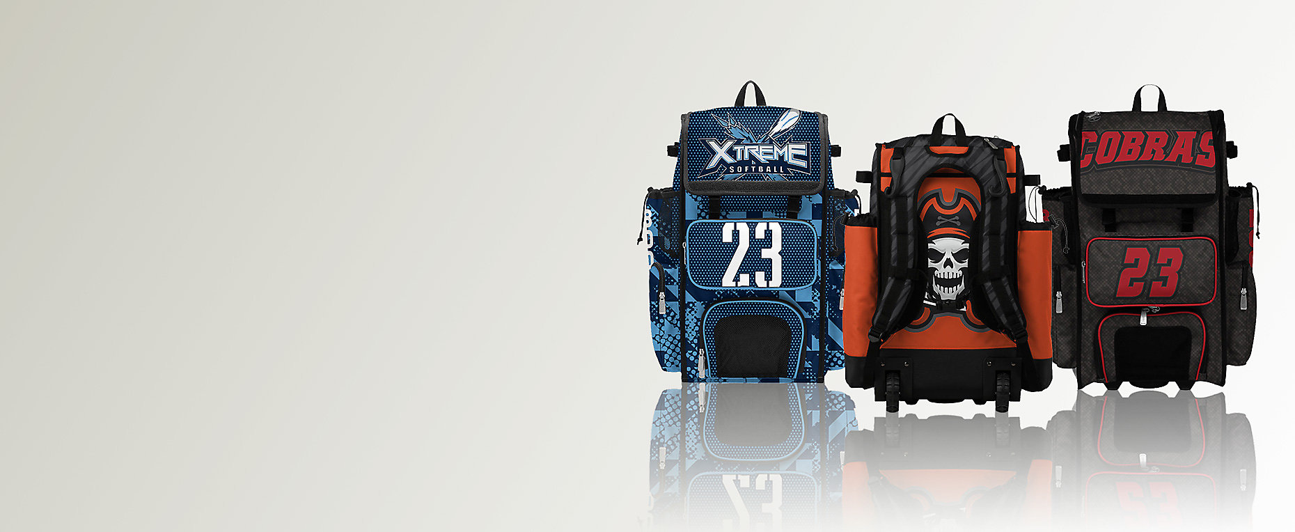 Custom Superpack Back Pack, Custom Superpack Hybrid Rolling Back Pack, Custom Superpack Rolling Bat Bag