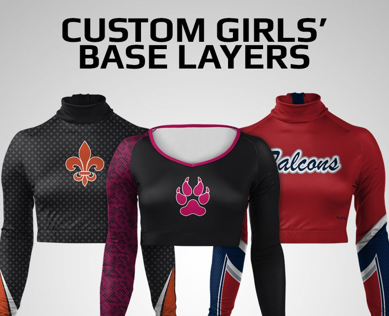 Custom Girls' Base Layers