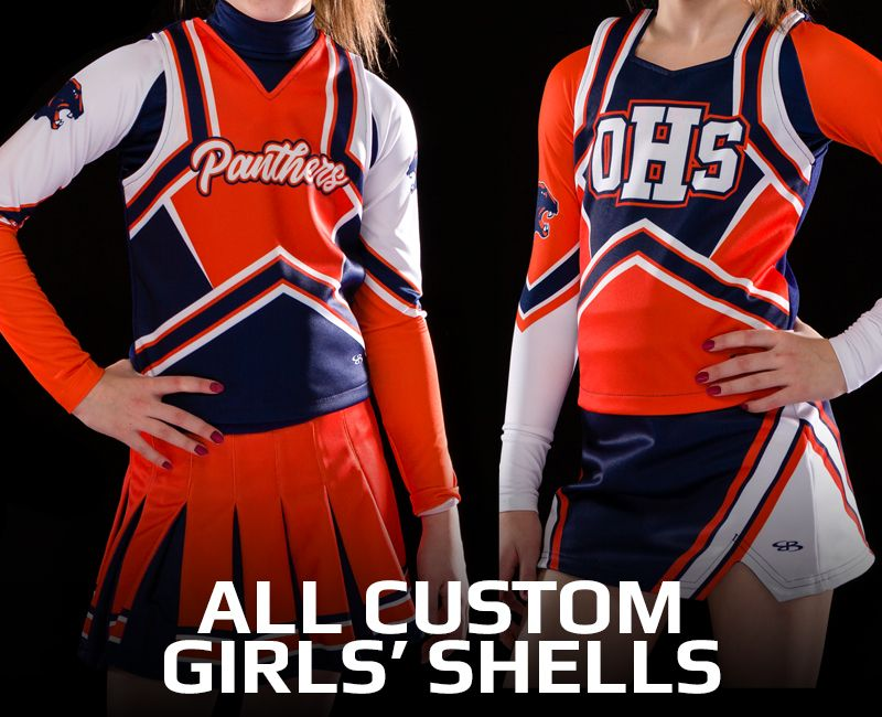 All Custom Girls' Shells