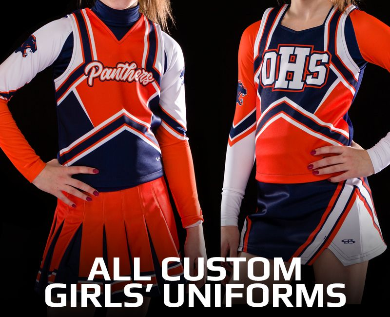 All Custom Girls' Uniforms