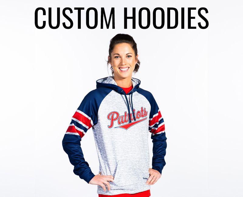 Women's Custom Hoodies