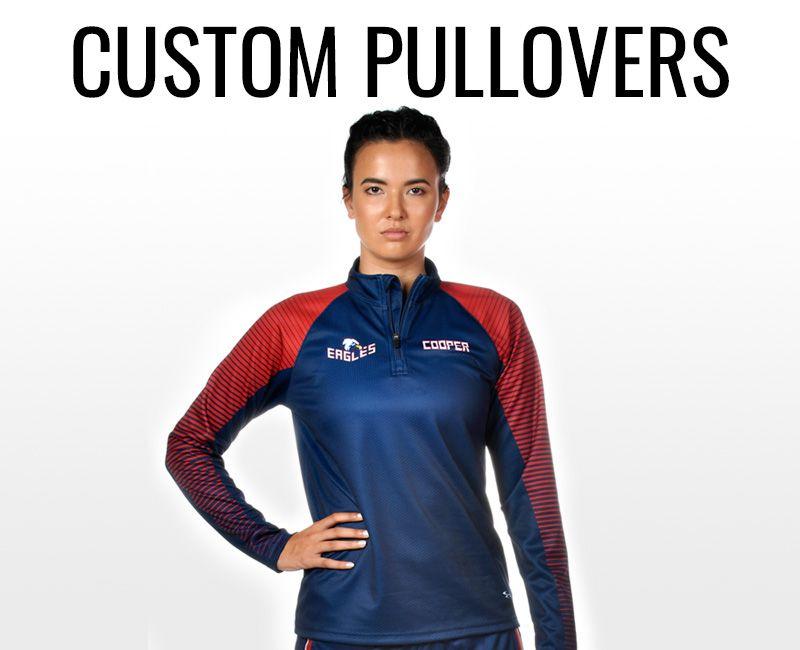 Women's Custom Pullovers
