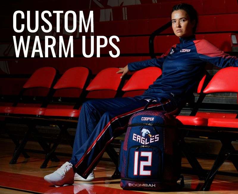 Women's Custom Warm Ups
