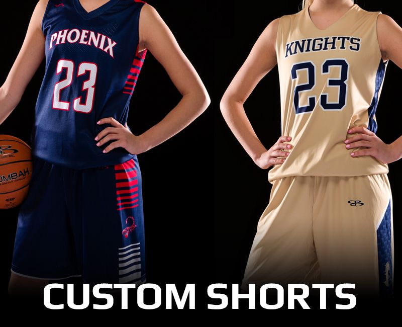 Women's Custom Basketball Shorts