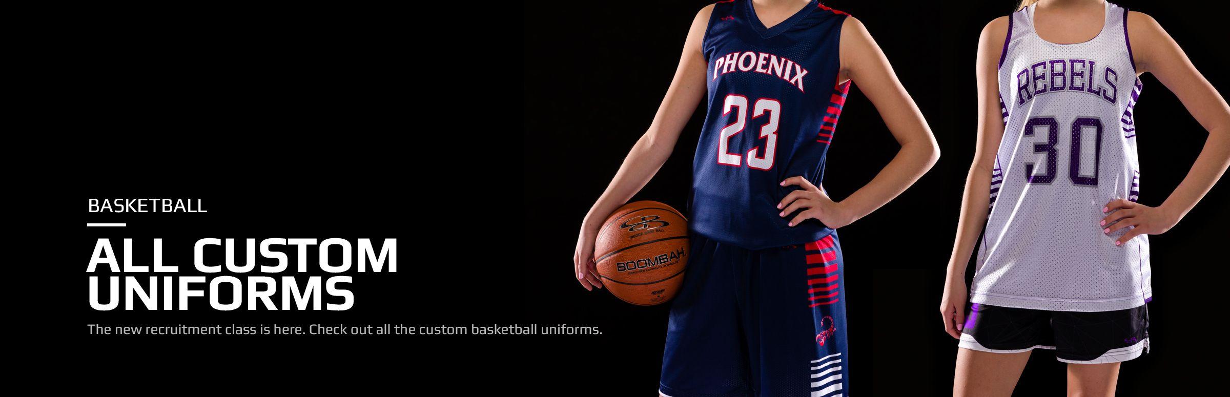 Women's Custom Basketball Uniforms