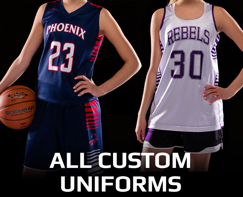 Women's Custom Basketball Uniforms