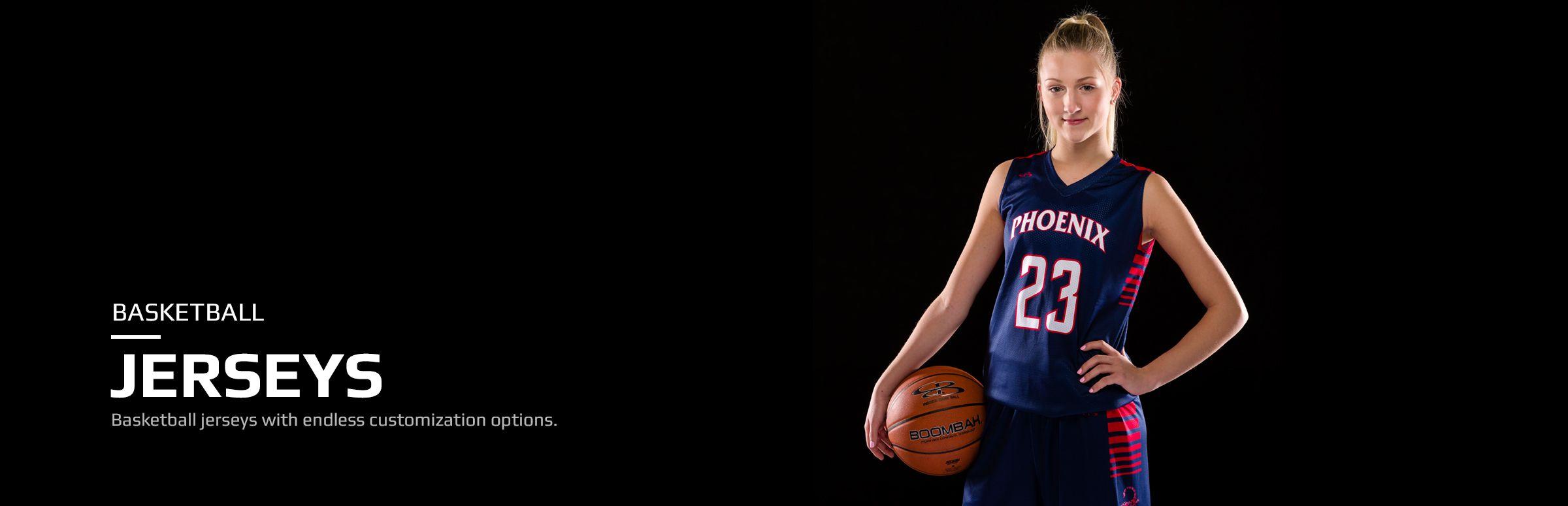 women's custom basketball jerseys