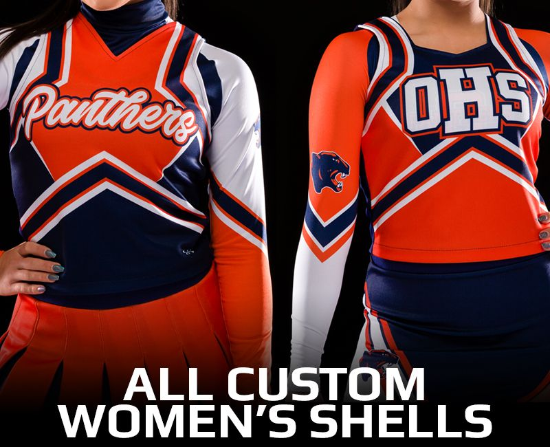 All Custom Women's Cheer Shells