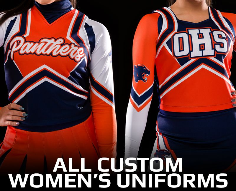 All Custom Women's Uniforms