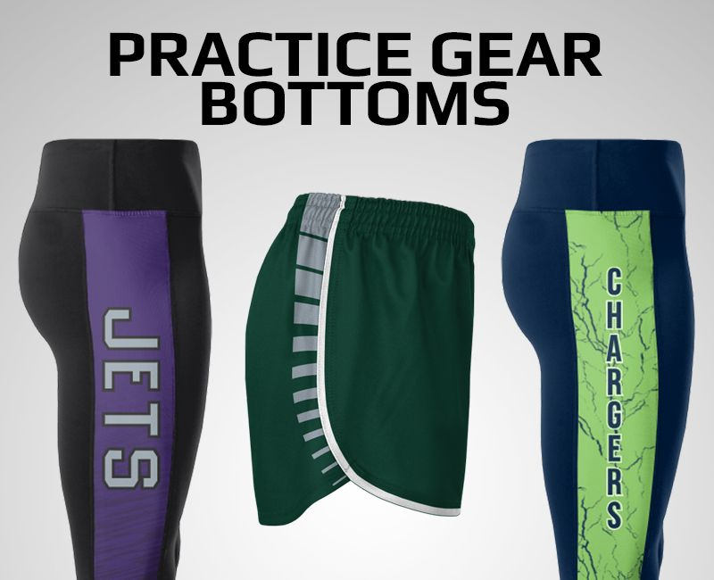 Cheer Practice Gear Bottoms