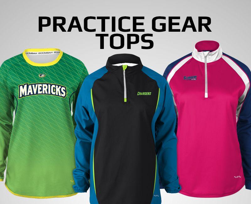 Cheer Practice Gear Tops
