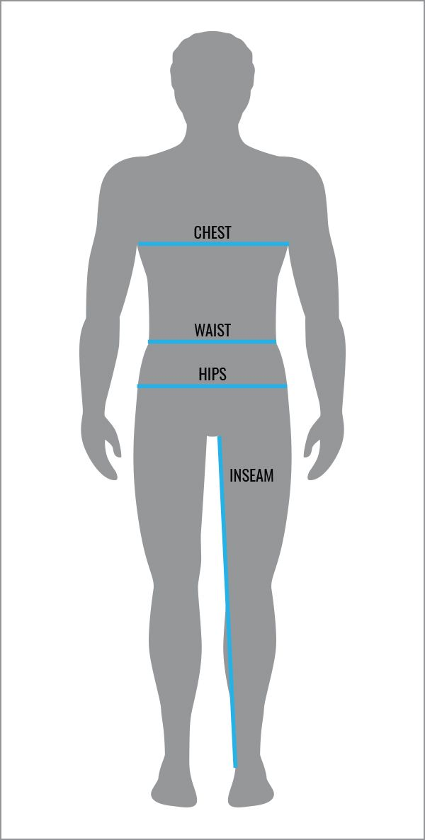 Men's Sizing Guides