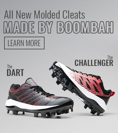 All New Molded Cleats